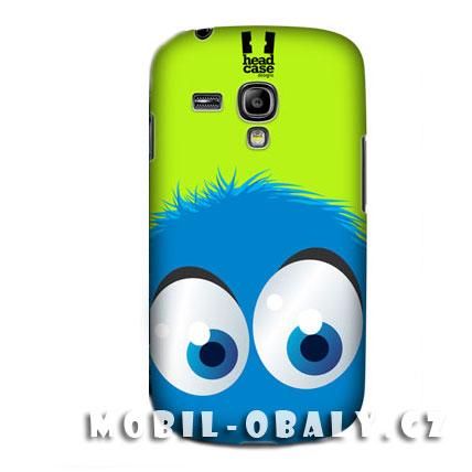 HEAD CASE pouzdro na mobil Samsung galaxy S3 mini modrý smajlík