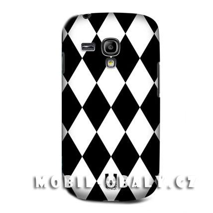 HEAD CASE pouzdro na mobil Samsung galaxy S3 mini černá bílá