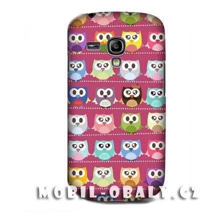 HEAD CASE pouzdro na mobil Samsung galaxy S3 mini motiv sovičky
