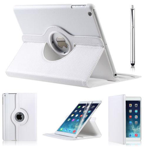 Pouzdro 360 DEGREE na tablet Apple iPad Air bílá barva+ fólie zdarma ec6e7719fde