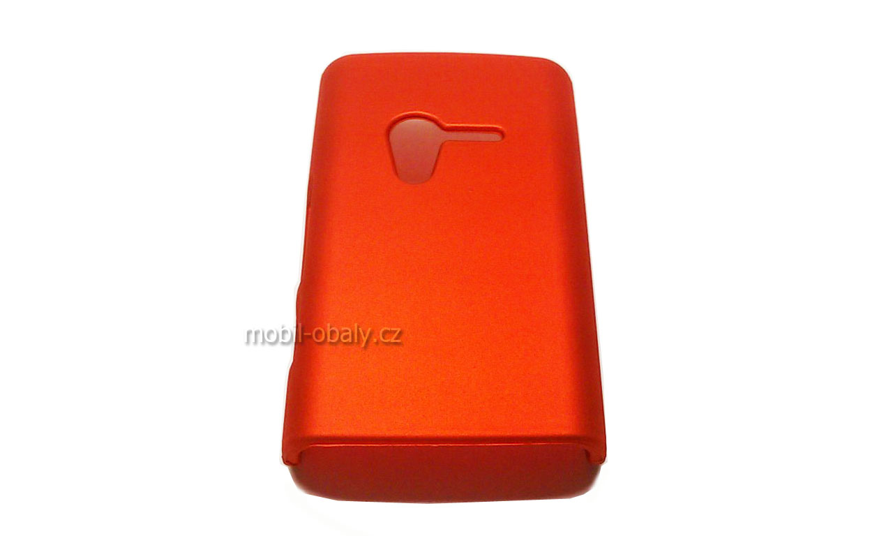 Obal na Sony XPERIA X10 MINI plast oranžová