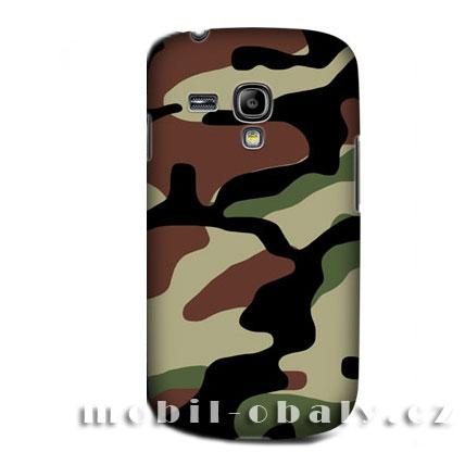 HEAD CASE pouzdro na mobil Samsung galaxy S3 mini kamufláž barevný