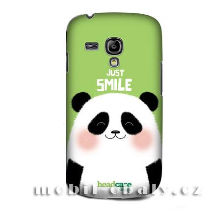 HEAD CASE pouzdro na mobil Samsung galaxy S3 MINI zvířátko panda zelený