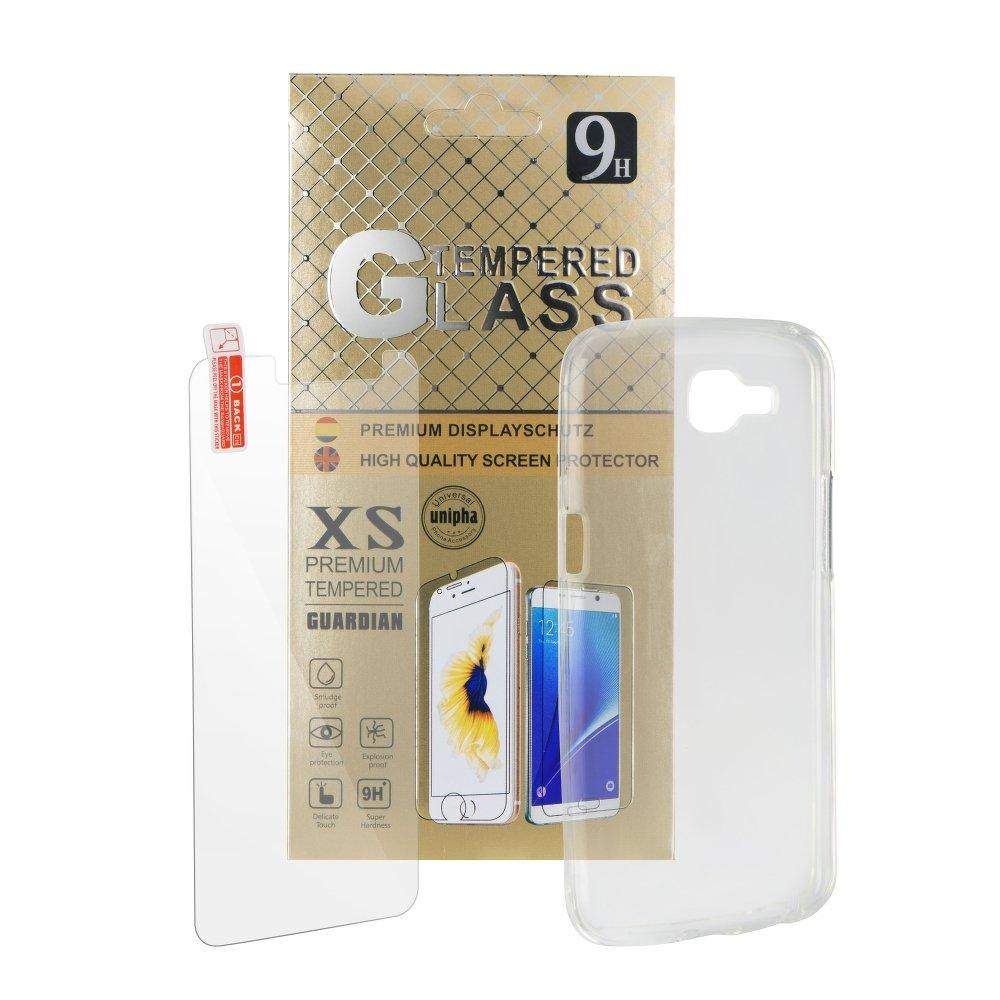 Silikonový obal + tvrzené sklo pro Samsung Galaxy Note 8