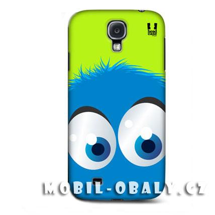 HEAD CASE pouzdro na mobil Samsung galaxy S4 smajlík modrá