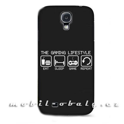 HEAD CASE pouzdro na mobil Samsung galaxy S4 Hráč černá