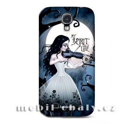 HEAD CASE pouzdro na mobil Samsung galaxy S4 My spirit černá modrá
