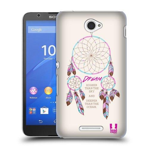 HEAD CASE obal na mobil Sony XPERIA E4 motiv lapač snů snění