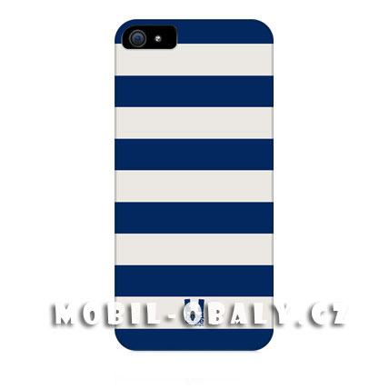 HEAD CASE Plastový obal na mobil Iphone 5/5S modrá bílá námořník