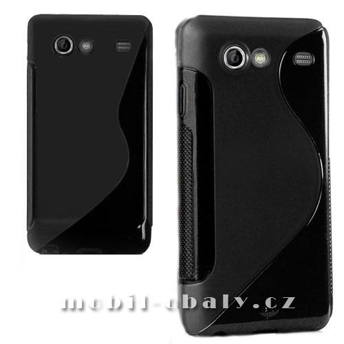 Obal S-line na mobil Samsung Galaxy S advance i9070 černý silikon