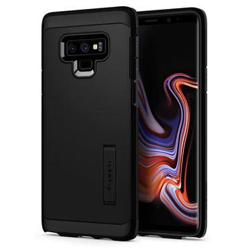 Odolný zadní obal Samsung Galaxy Note 9 Spiegen Tough Armor, černá