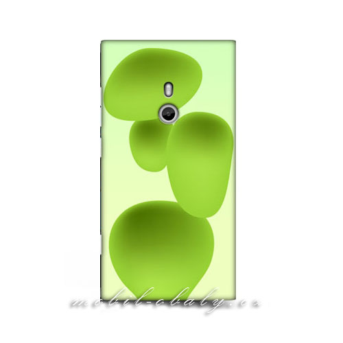 HEAD CASE obal na mobil Nokia Lumia 800 Magická zelená