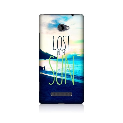 HEAD CASE obal na mobil HTC windows phone 8X Modrá Barva Lost in the Sun