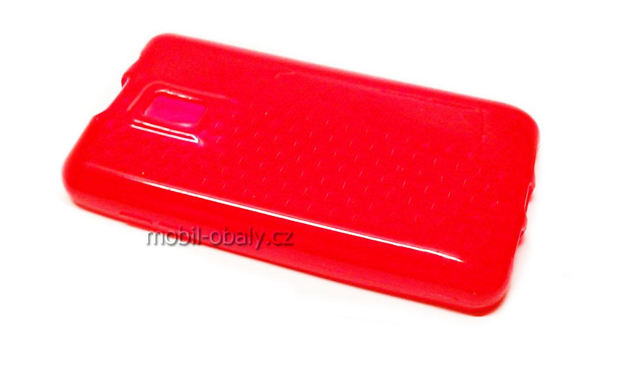 Obal S-line na LG OPTIMUS P990 2X silikonový červený