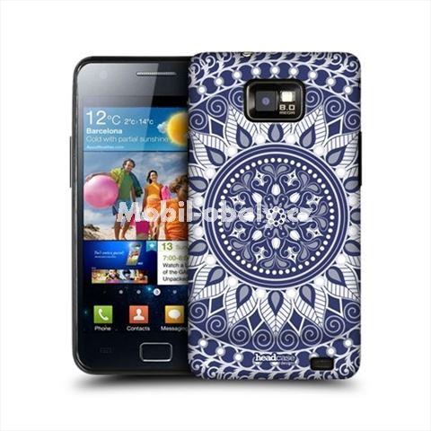 HEAD CASE obal na mobil Samsung Galaxy i9100 S2 Indický motiv Mandala