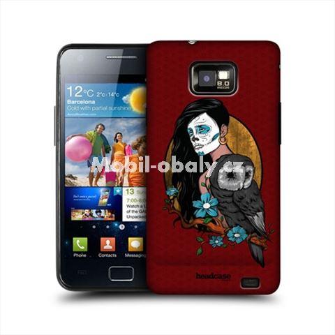 HEAD CASE obal na mobil Samsung Galaxy i9100 S2 žena se sovou