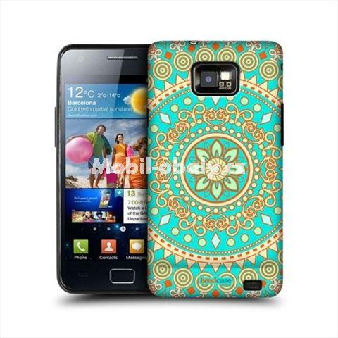 HEAD CASE obal na mobil Samsung Galaxy i9100 S2 Indický vzor Mandala