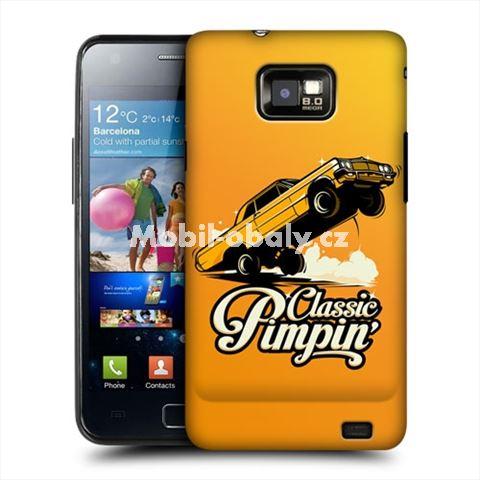 HEAD CASE obal na mobil Samsung Galaxy i9100 S2 Classic Car