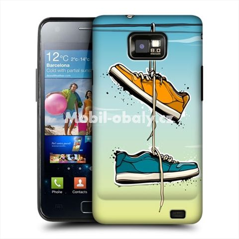 HEAD CASE obal na mobil Samsung Galaxy i9100 S2 Tenisky