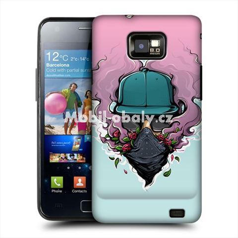 HEAD CASE obal na mobil Samsung Galaxy i9100 S2 Kouřící obraz