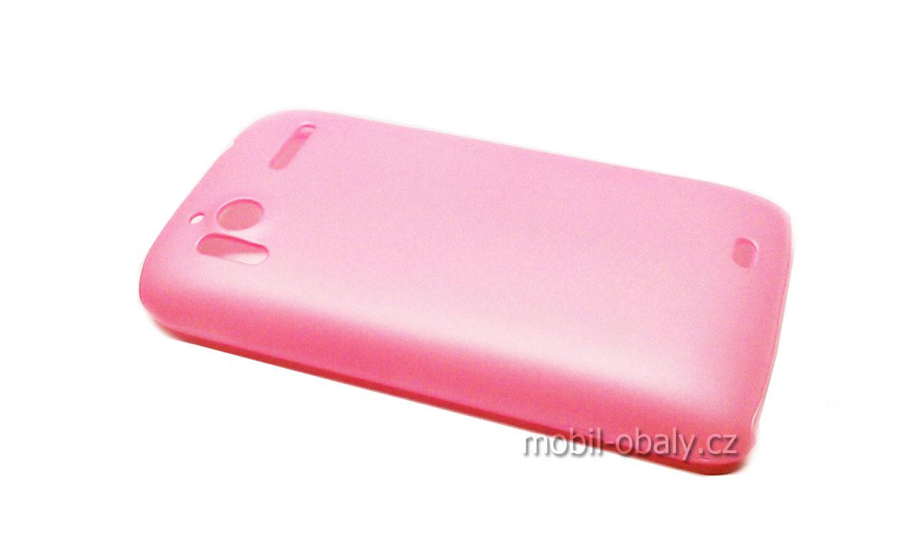 Obal Faceplate na mobil HTC Sensation 4G pevný plast růžový