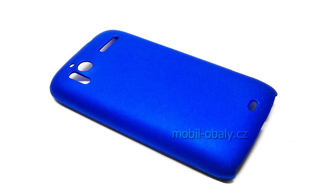 Obal Faceplate HTC Sensation 4G pevný plast modrý