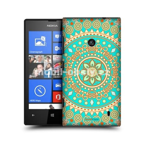 HEAD CASE obal na mobil Nokia Lumia 520 indický motiv mandala
