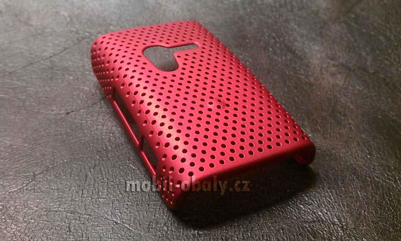 Obal na Sony XPERIA X10 MINI plast červený