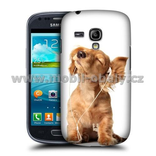 HEAD CASE pouzdro na mobil Samsung galaxy S3 mini legrační zvířátka  roztomilé štěňátko eafed2f6e6c