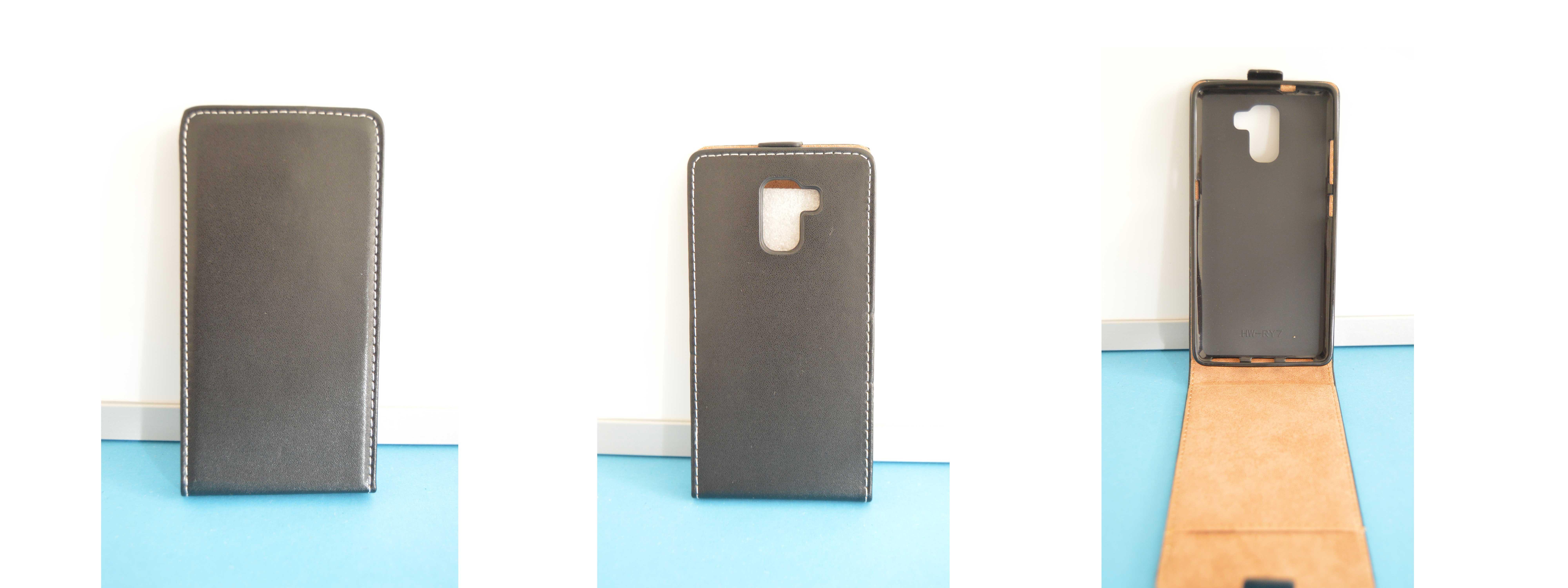 Forcell Pouzdro na mobil HUAWEI HONOR 7 umělá kůže flip magnetický empty aab36fdf01a