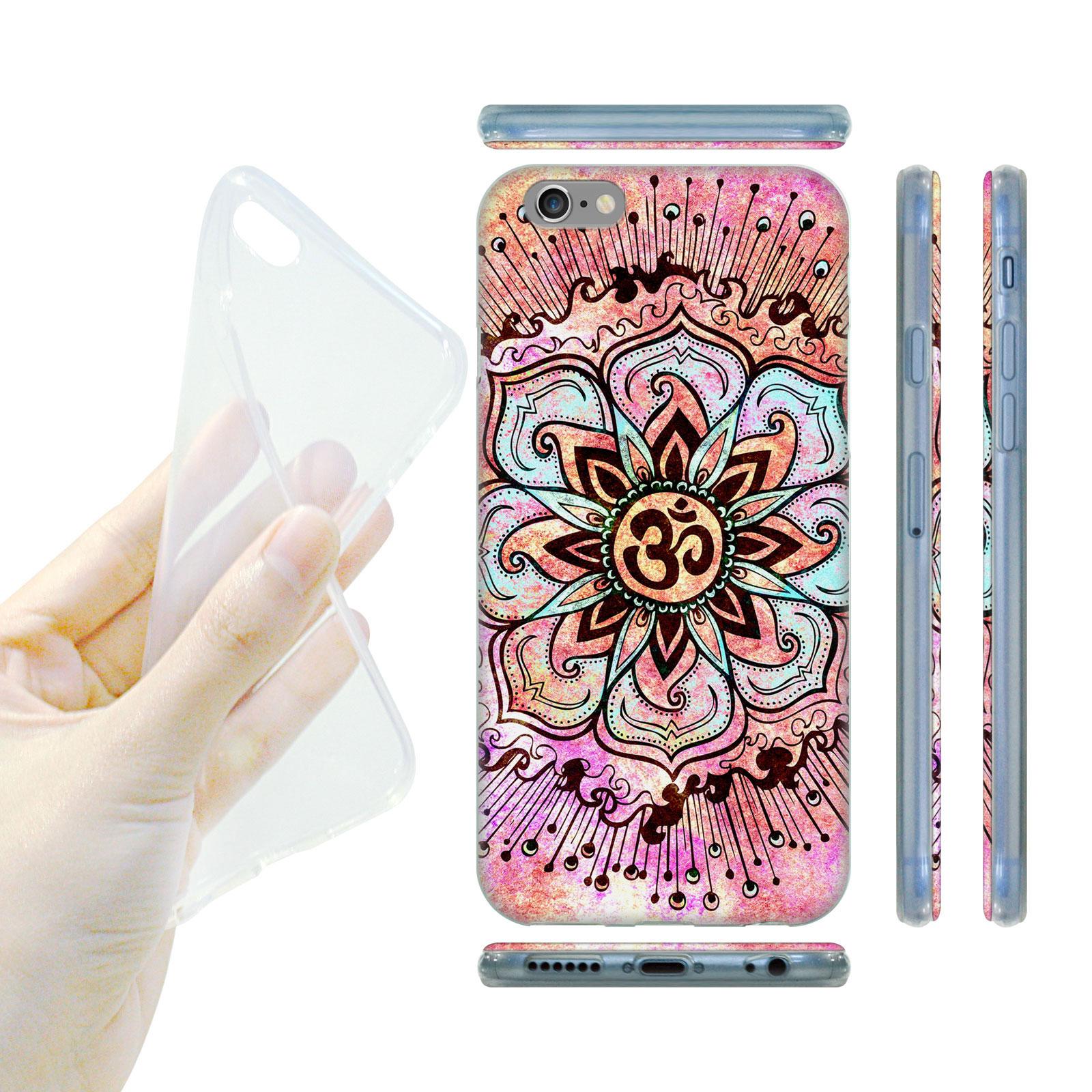 HEAD CASE Silikonový obal na mobil Iphone 6 6S indický růžový lotosový květ 1555aa3fa9d