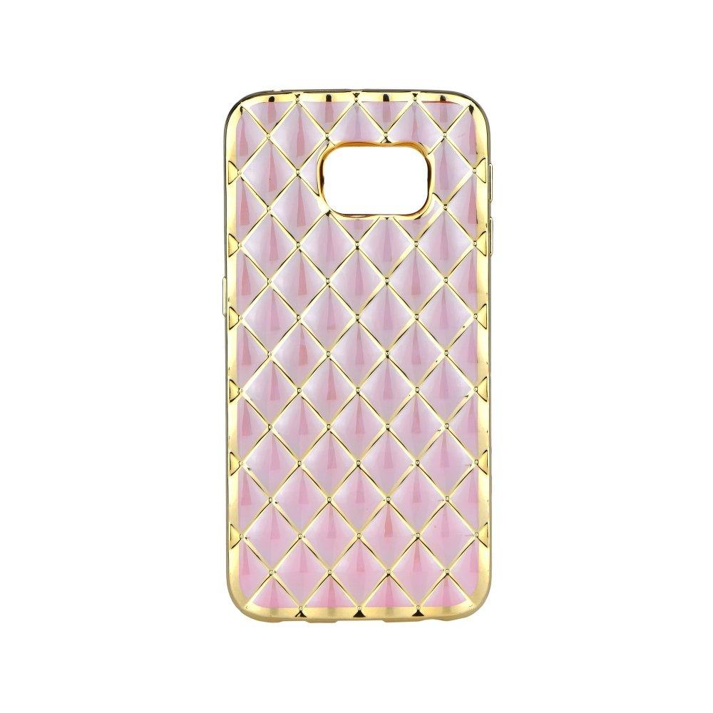 02edccbb0 Silikonový obal LUXURY GEL CASE na mobil Samsung Galaxy S6 EDGE zlatá,  růžová