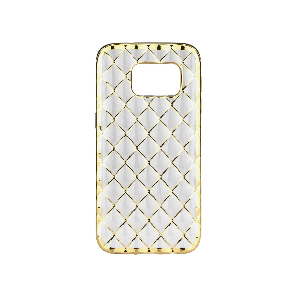 c9f2e212c Silikonový obal LUXURY GEL CASE na mobil Samsung Galaxy S6 G920F zlatá