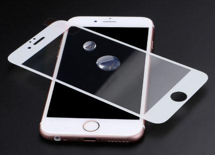 BLUE STAR 3D Tvrzené Sklo pro Apple Iphone 7 8 PLUS plné krycí sklo bílé  empty 1113ea18ba6