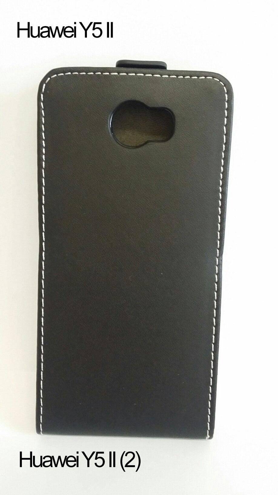 Forcell flipové pouzdro na mobil Huawei Y5 II   Y6 II Compact černá barva  empty e08cc931bc1