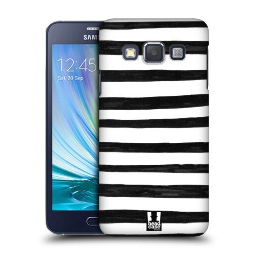 f638fa1cf HEAD CASE plastové pouzdro na mobil Samsung Galaxy A3 cik cak pruhy tenké