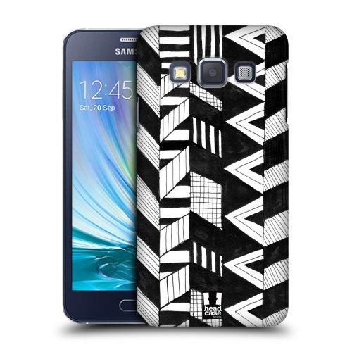 319e1f8e8 HEAD CASE plastové pouzdro na mobil Samsung Galaxy A3 cik cak vertikální