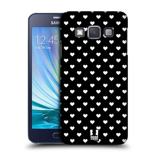 d63584a2e HEAD CASE plastové pouzdro na mobil Samsung Galaxy A3 cik cak srdíčka