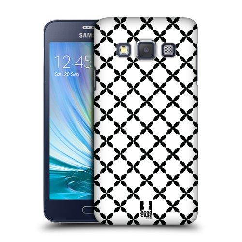 6fb0bfd2e HEAD CASE plastové pouzdro na mobil Samsung Galaxy A3 cik cak křížky