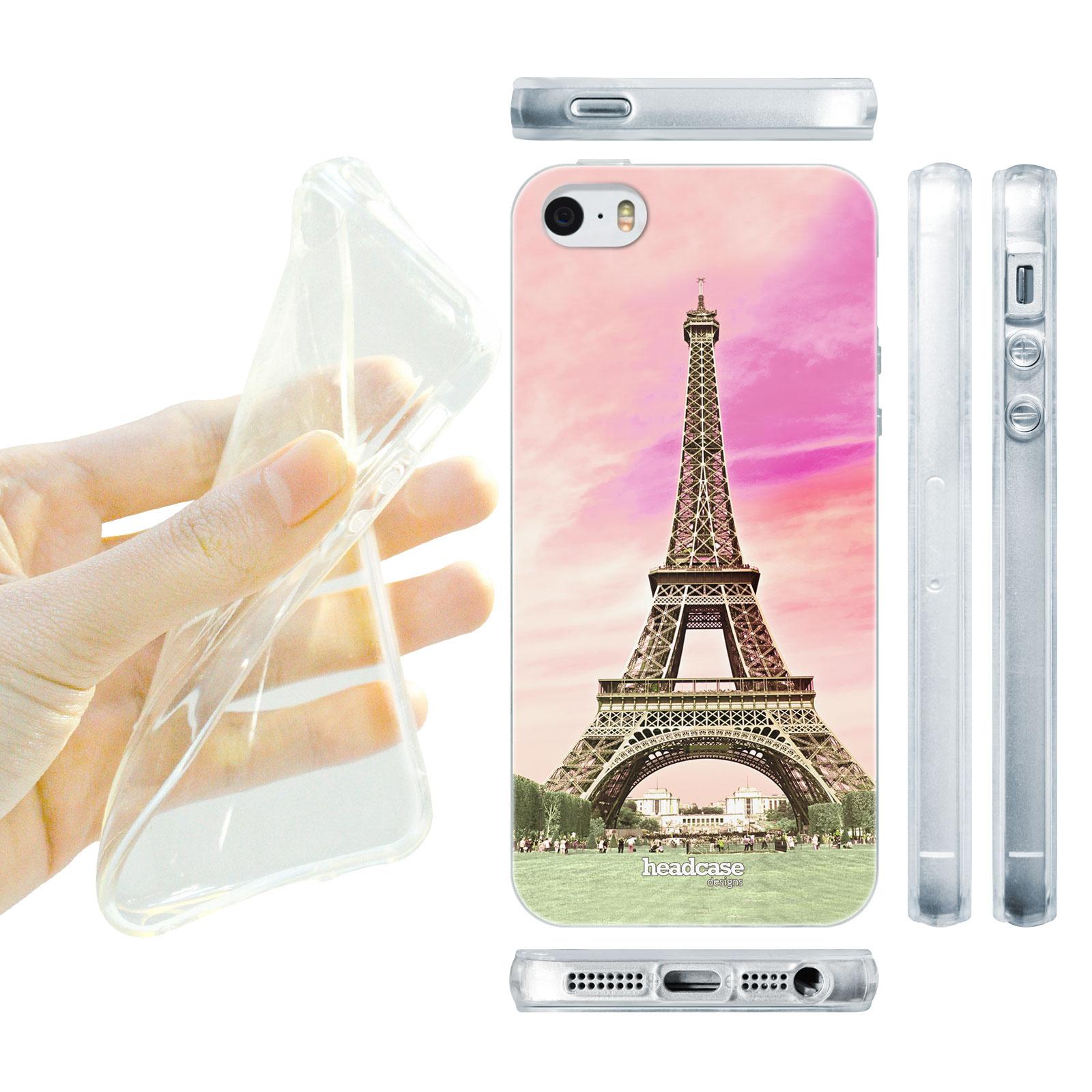 HEAD CASE silikonový obal na mobil Iphone 5 5S nejkrásnější místa Eiffelova  věž eafee951b7c