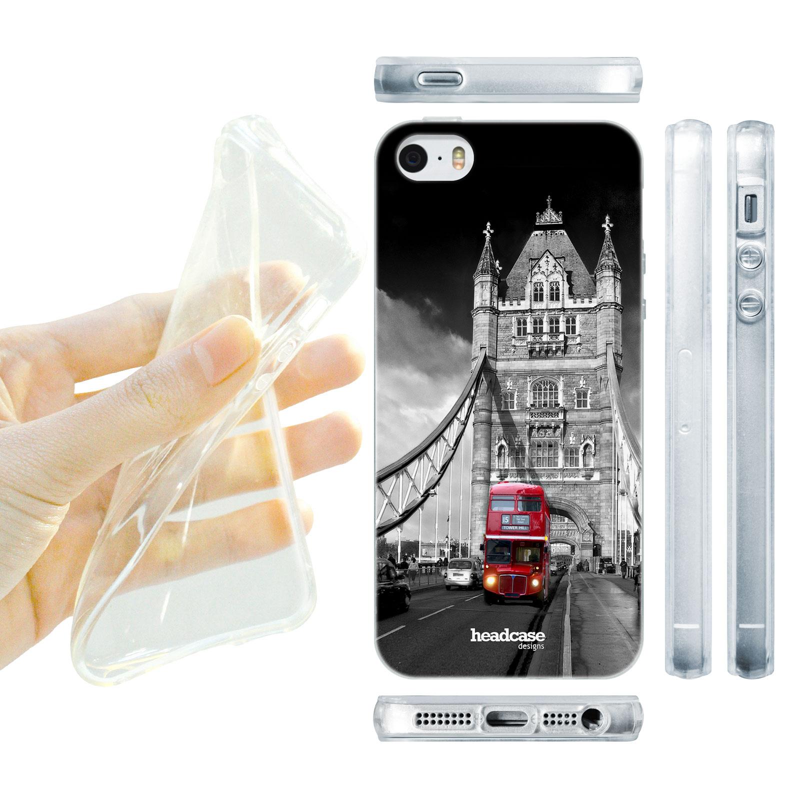 71565317f HEAD CASE silikonový obal na mobil Iphone 5/5S nejkrásnější místa Londýn  most