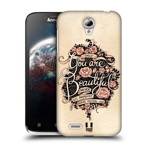 HEAD CASE kryt,pouzdro,obal na mobil LENOVO A859 motiv YOU ARE BEAUTIFUL