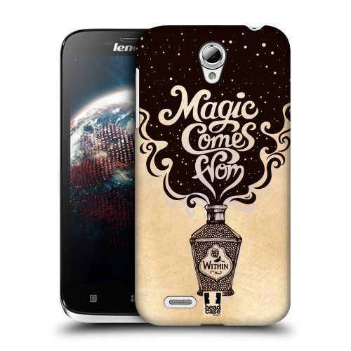 HEAD CASE kryt,pouzdro,obal na mobil LENOVO A859 motiv MAGIC COMES FROM
