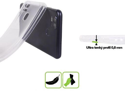 Silikonový obal na mobil ZTE Blade A520 HEAD CASE čirý empty abda223c7e9
