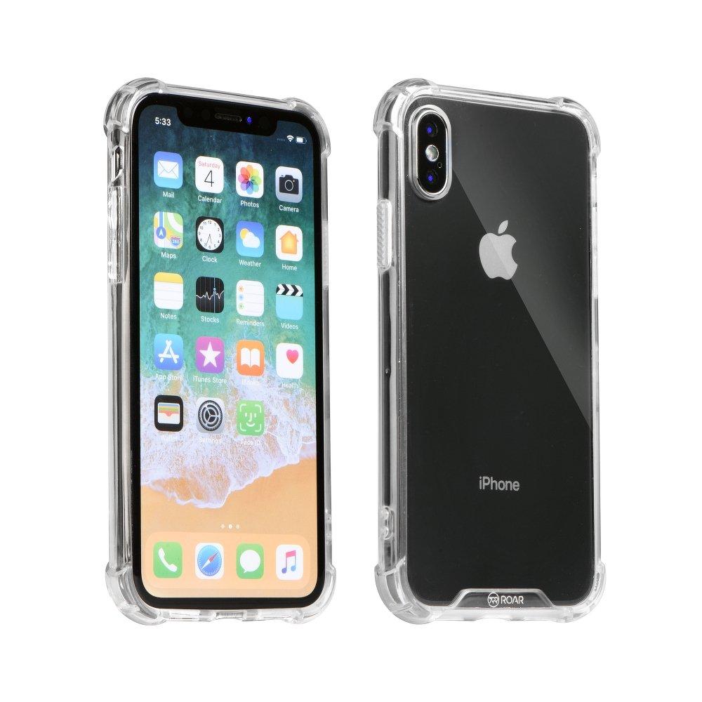 Obal pro Apple Iphone X   XS odolný Armor Jelly Roar průhledný empty fa071fb1e02
