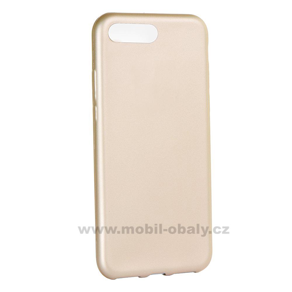 Obal Honor 10 silikonový zlatý Jelly case Flash Mat empty 79924d77fce