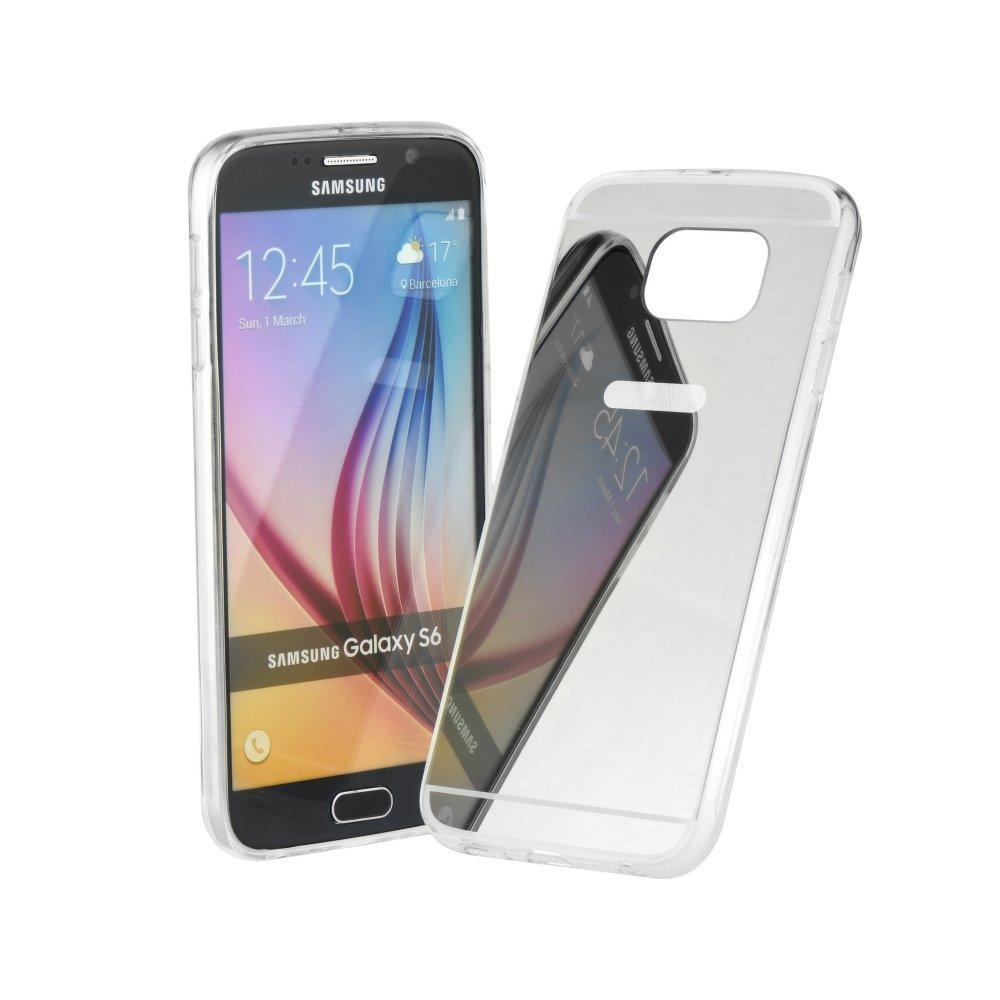 Zrcadlový obal pro Samsung Galaxy A8 2018 silikon empty d9116ed4d81