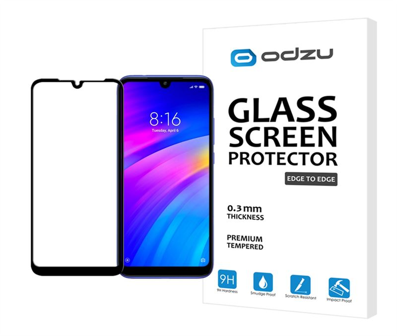 Odzu Glass Screen Protector E2E - Xiaomi Redmi 7
